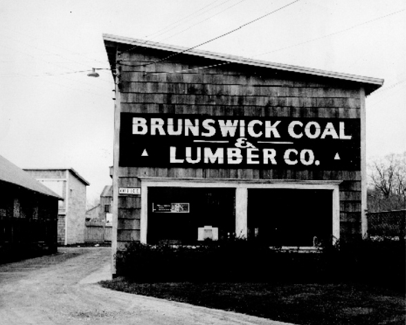 "Allen Morrell bought Brunswick Coal Co. in 1931 and shortly after added ""& Lumber"" to the name. He expanded the business to include heating oil, propane and building materials."