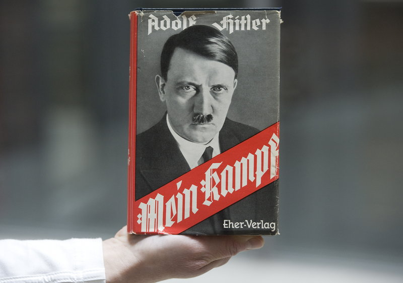 """The German state of Bavaria says it's preparing for the 2015 expiration of the copyright on """"Mein Kampf"""" by funding editions with critical commentary."""