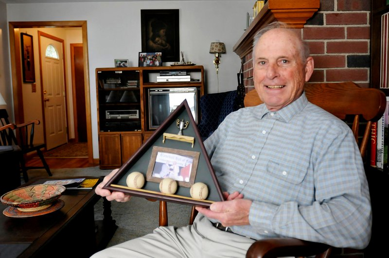 Norm Faucher of Biddeford said he fell short of his goal in 1951 during the high school baseball season. He wanted 10 triples.