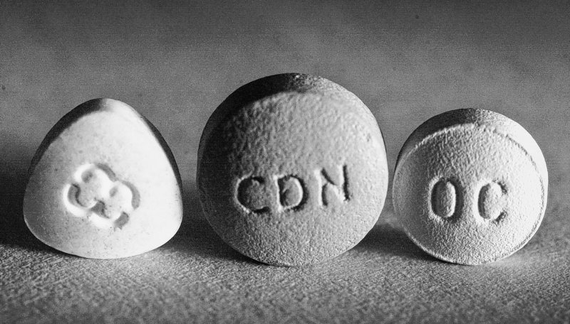 Prescription painkillers Dilaudid, left, and OxyContin, center and right. Many people who use such medications are suffering from severe pain and are not addicts or drug seekers, a reader writes.