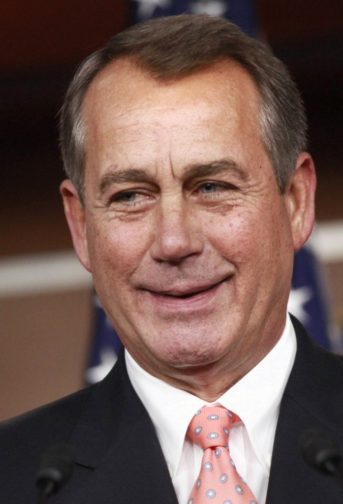 "U.S. Rep. John Boehner, speaker of the House, R-Ohio: ""People want to politicize this because it is an election year. But my God, do we have to fight about everything?"""