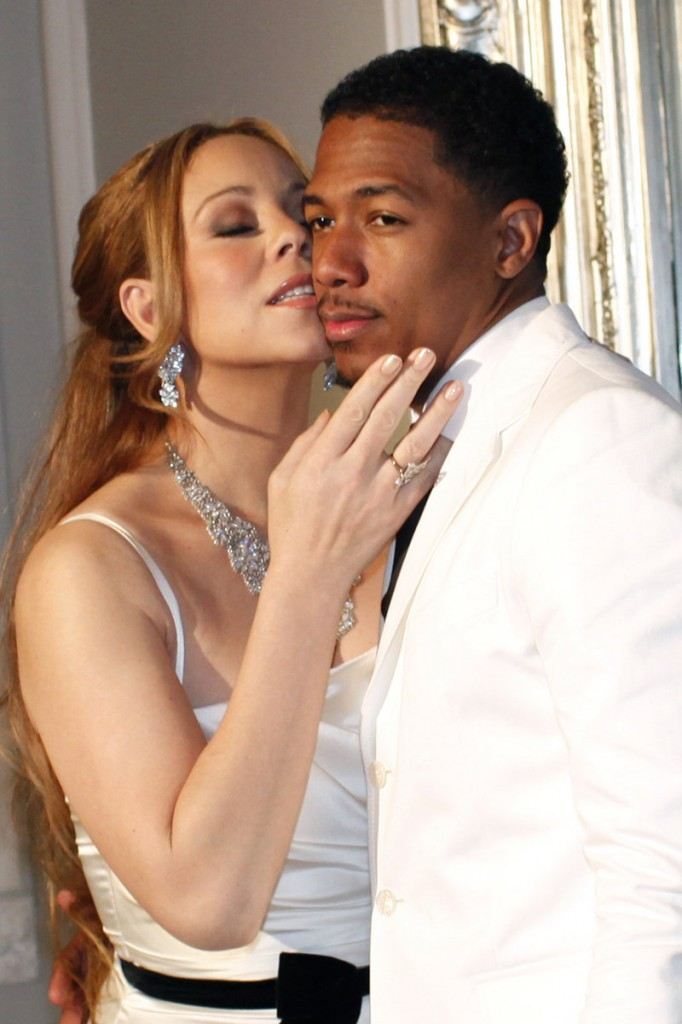 Nick Cannon and Mariah Carey, after renewing their vows.