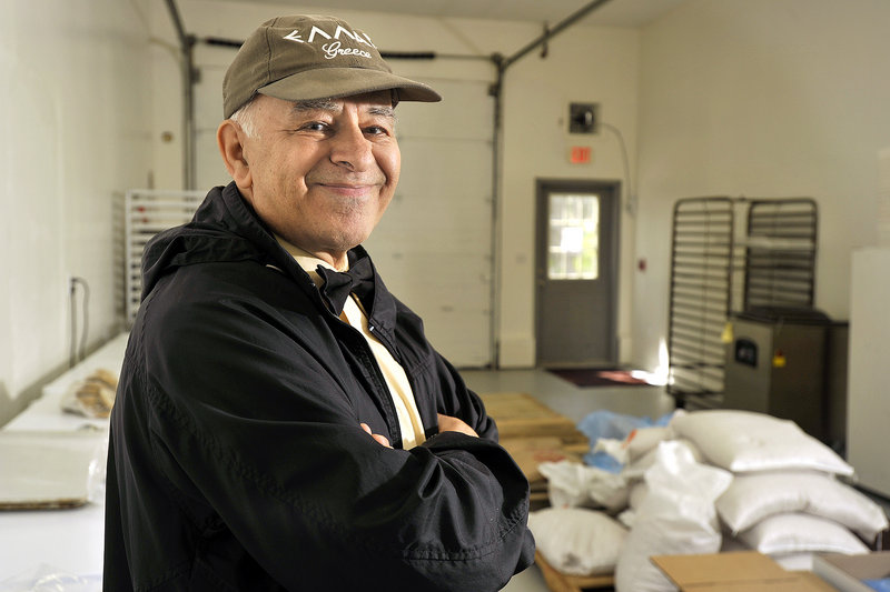 Christos Zoulamis of Papou's Kitchen is pleased to be in a larger space in Westbrook that will facilitate his expansion plans.