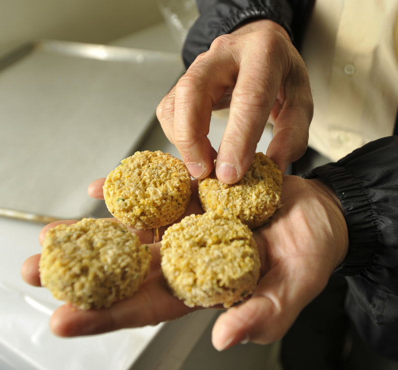 The company supplies falafel to many stores in New England, including Hannaford and Whole Foods.