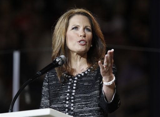 U.S. Rep. Michelle Bachmann, R-Minn., says she sent a letter to the Swiss Consulate asking for withdrawal of her Swiss citizenship. She said she wanted to make clear she is 100 percent committed to the United States.
