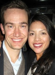 Nathan Bihlmaier and his wife, Nancy Ho Bihmaier.