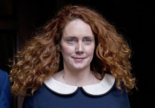 Rebekah Brooks, 43, former chief executive of News International, leaves the High Court in London on May 11 after giving evidence.