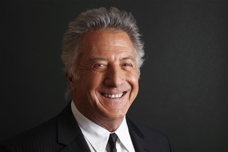 In this Friday, Jan. 13, 2012 file photo actor Dustin Hoffman poses for a portrait for his HBO television series