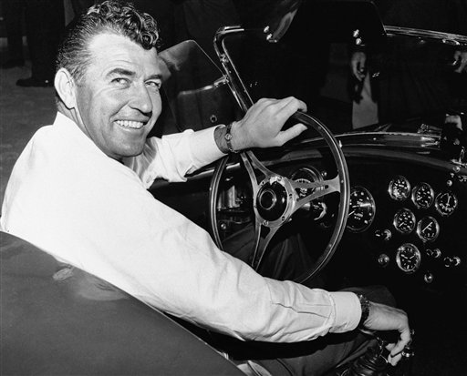 Auto racer Carroll Shelby, in a 1964 photo.
