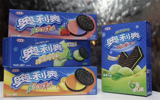 To attract Chinese consumers, Kraft Food Inc. rejiggered its Oreo recipe to create a cookie that was a tad smaller and a touch less sweet. The company also added flavors popular in Asian desserts, such as raspberry-and-blueberry and mango-and-orange.