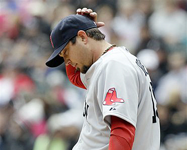 Struggling Boston Red Sox starter Josh Beckett will take the mound tonight at Fenway Park against the Cleveland Indians.