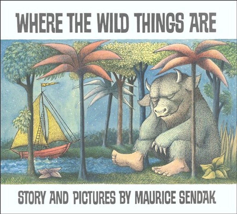 """In this book cover image released by HarperCollins, """"Where the Wild Things Are,"""" by Maurice Sendak, is shown. Sendak died Tuesday, May 8, 2012 at Danbury Hospital in Danbury, Conn. He was 83. (AP Photo/HarperCollins)"""