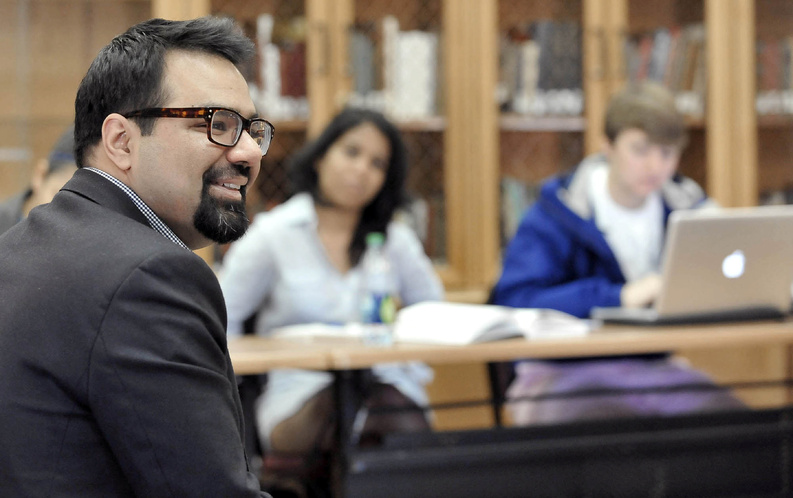 Shiraz Maher, a former radical Islamist, is a visiting lecturer in political science at Washington College in Chestertown, Md., where his personal story adds a unique perspective to his classes.