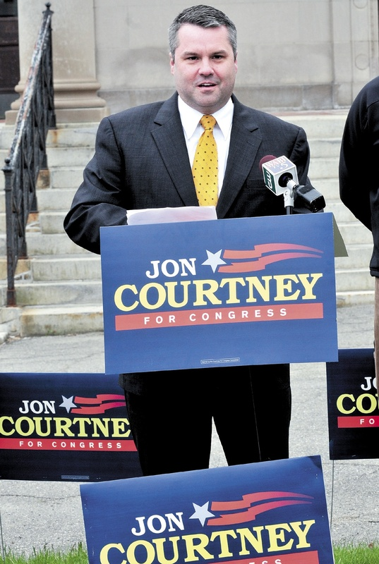 State Sen. Jon Courtney begins his congressional campaign with a stop in Waterville on Thursday. He is running in the 1st District.