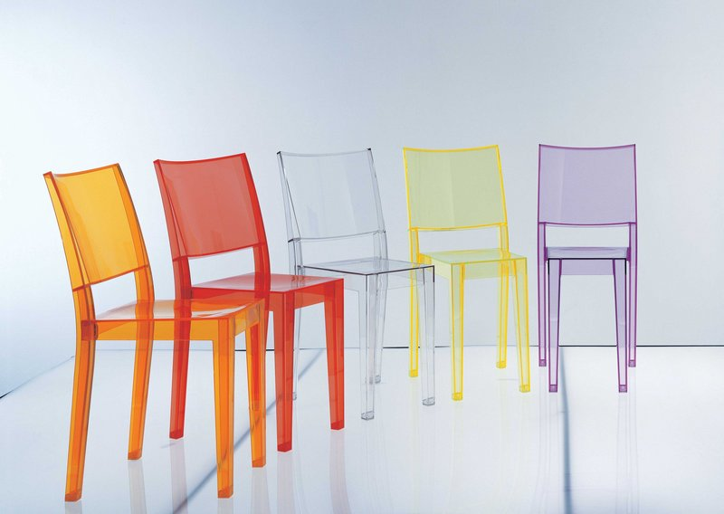 La Marie chairs from Kartell. The Italian design company has frequently dominated the synthetic materials marketplace, with wow-factor pieces.