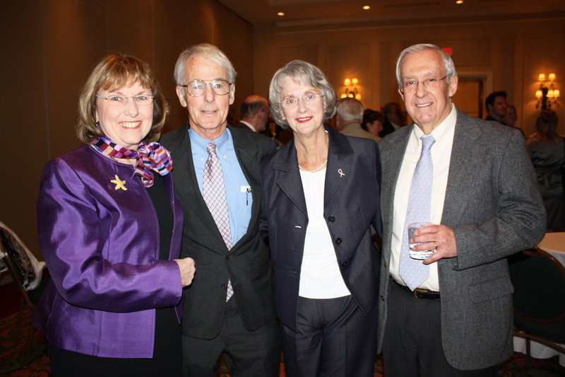 Jane Sheehan, Dr. Jim Dineen, Dolly Dineen and Dr. Terry Sheehan.