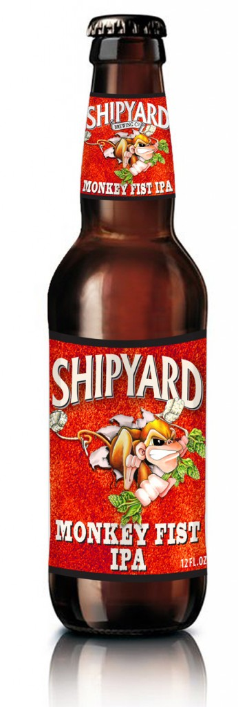 Shipyard Monkey Fist IPA is a response to stronger IPAs from the West Coast.