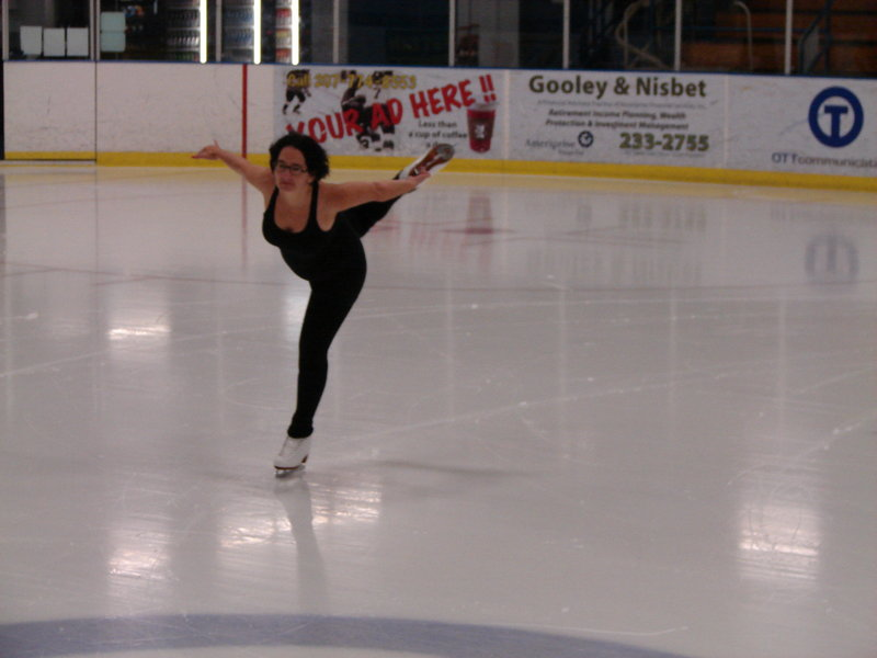 Erica Rand, a Bates college professor, learned figure skating in her 40s, and although she loves the sport, she is critical of some aspects of it.