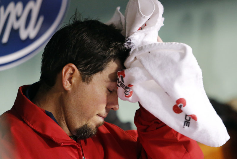 Josh Beckett, already out of the fans' good graces, allowed seven runs and seven hits in 2 1⁄3 innings Thursday night, and the Red Sox have now lost 8 of 9.