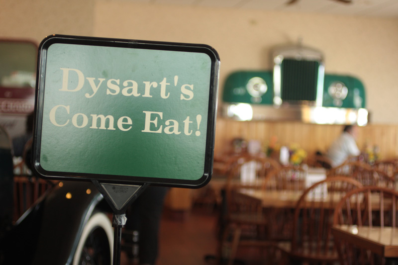 Dysart's Truck Stop off I-95 in Bangor has been serving truckers and the rest of us for decades. Thankfully, this slice of Americana continues the glorious tradition of late-night pie.