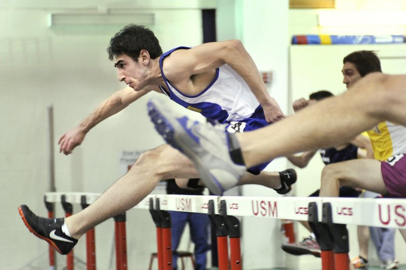 Reid Pryzant is a two-time state champion indoors in the hurdles and owns the fastest time in the state this spring in the 100-meter hurdles – 15.54 seconds.