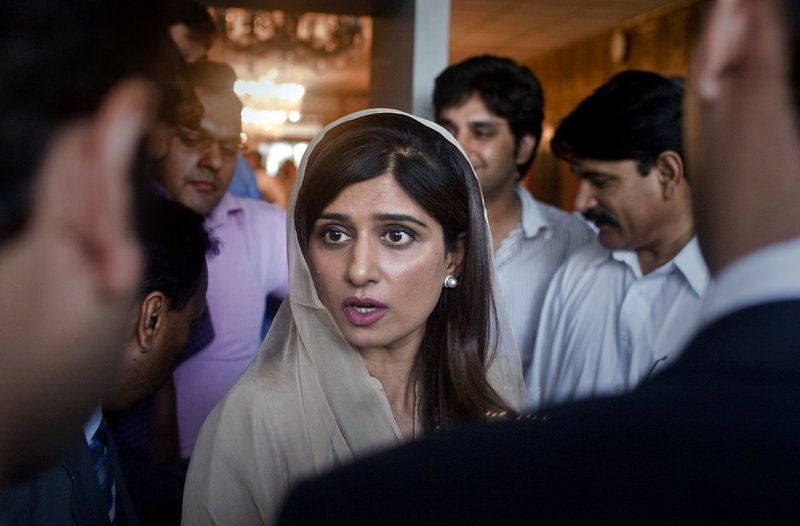 Pakistani Foreign Minister Hina Rabbani Khar, above, said Monday that the government made the right decision to close the border to NATO to send a message to Washington that the attack on its troops in November was unacceptable.