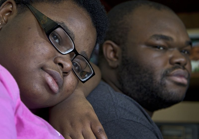 Gennesaret Sealy of Montgomery, Ala., is set to graduate June 5 from Loveless Academic Magnet Program High School. Neither she nor her older brother Sosthenes, right, ever missed a day of school from K-12.