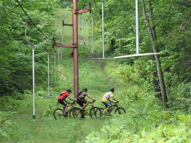 The Camden Snow Bowl has mountain biking trails for all skill levels, and there are also several popular routes in the Camden-Rockport area for those who prefer the road.