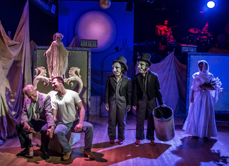 """""""Ten Blocks on the Camino Real,"""" a Tennessee Williams play performed at the Beau Jest Moving Theatre, will open at Portland's Lucid Stage on Thursday."""