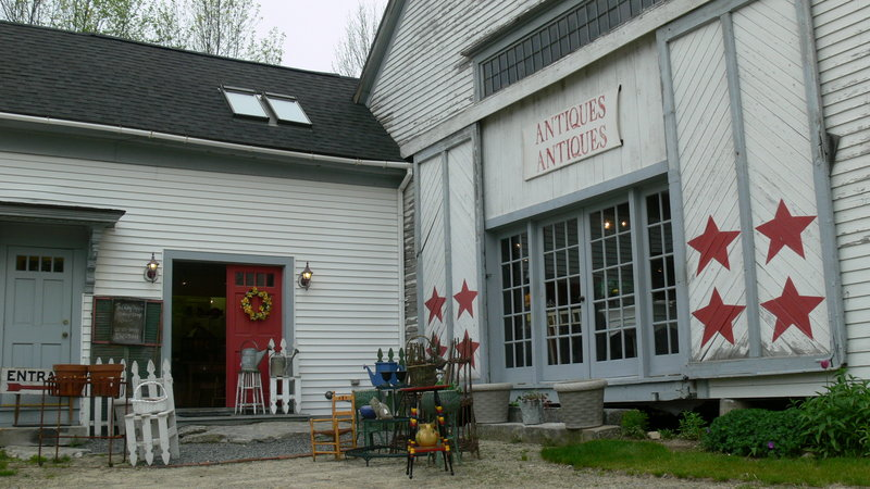 The Ruby Slipper is an antique shop full of items for sale. The old farmhouse on Route 302 in Windham offers plenty of colorful history within its own walls as well.