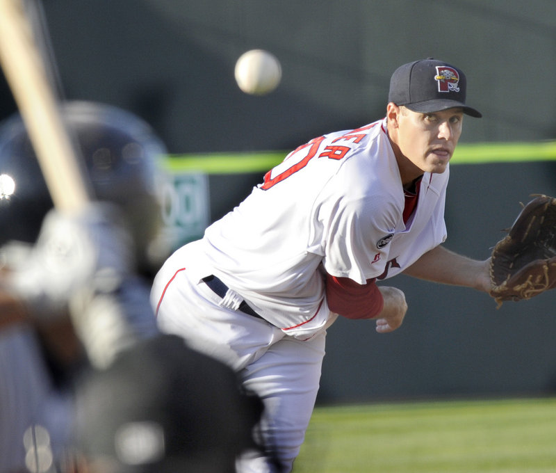 Sea Dogs pitcher Billy Buckner limited Binghamton to three hits in six scoreless innings Friday as he earned his second win of the season, 4-0.