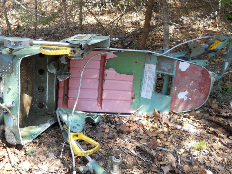An ejection seat thought to be from a B-52 Stratofortress-C that crashed nearly 50 years ago will be retrieved Thursday from its location on Elephant Mountain, north of Greenville.