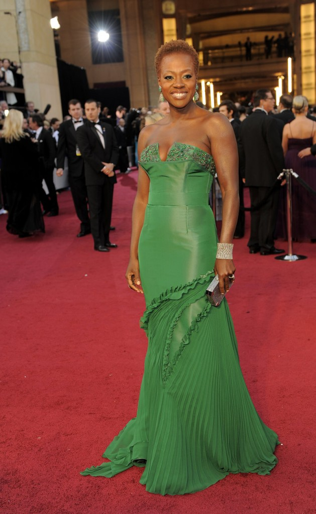 Viola Davis, shown at the Oscars, graduated in 1983 from Central Falls High School.