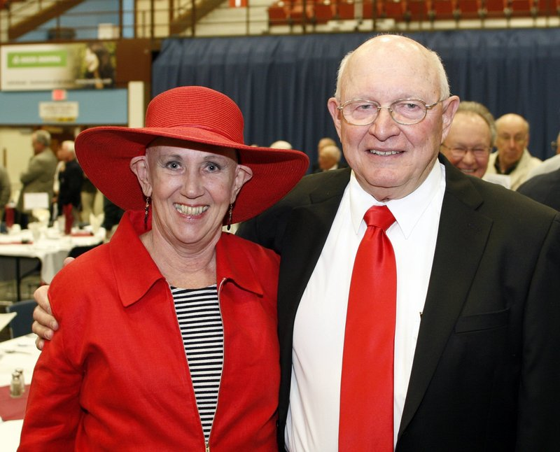 Lois Cooper and her husband, Pete, were a fixture in Maine high school sports at both Bonny Eagle and Lawrence. Lois died last week of cancer.
