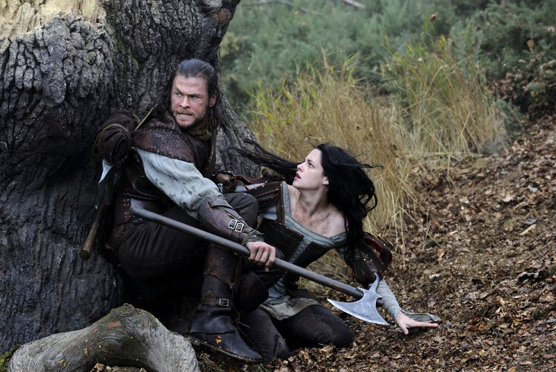 Kristen Stewart is Snow White, and Chris Hemsworth is the huntsman who becomes her savior and mentor in this action-filled 21st-century take on the 19th-century fairy tale.
