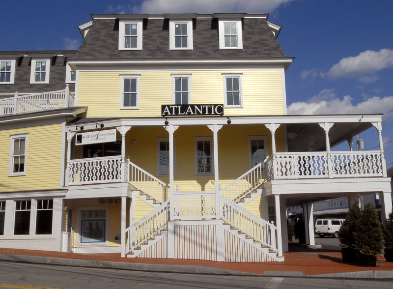 The Blue Sky restaurant is located inside the Atlantic House Hotel in York Beach. At the end of March, the restaurant abruptly closed after the owners were served with an eviction notice for failing to pay $20,000 in rent.