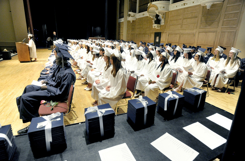 Portland High School held commencement exercises June 6. A high school diploma these days is just the start, and a fifth year of high school that enables students to earn credits toward a degree makes for a sensible transition.