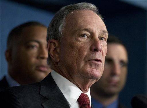 New York City Mayor Michael Bloomberg: