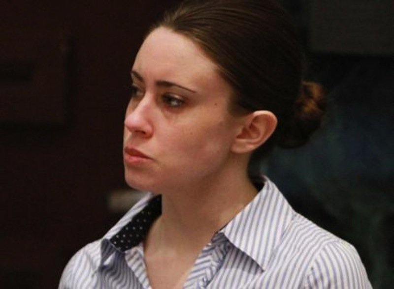 Casey Anthony listens to the judge during her murder trial in July 2011. (AP Photo/Joe Burbank)