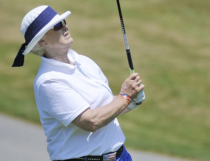 Pat Bradley not only still enjoys playing golf after a Hall of Fame LPGA career, but enjoys following her nephew, Keegan Bradley, who won the PGA Championship last season.