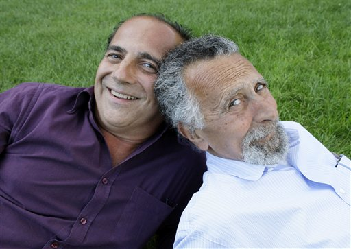 Brothers Tom, left, and Ray Magliozzi have hosted
