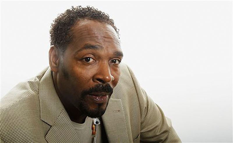 This April 13, 2012 file photo shows Rodney King posing for a portrait in Los Angeles. King, the black motorist whose 1991 videotaped beating by Los Angeles police officers was the touchstone for one of the most destructive race riots in the nation's history, has died, his publicist said Sunday, June 17, 2012. He was 47. (AP Photo/Matt Sayles, file)