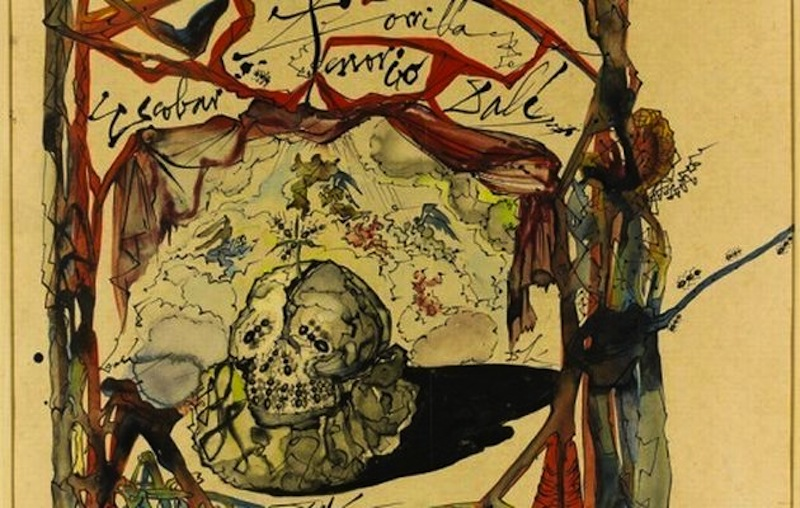 "This image provided by the New York Police Department shows a 1949 Salvador Dali painting, called ""Cartel des Don Juan Tenorio."" A man is suspected of stealing the $150,000 Salvador Dali painting from a Manhattan art gallery Thursday June 21, 2012. Police say the man walked into the Venus Over Manhattan art gallery on Madison Avenue posing as a customer and removed the watercolor and ink painting from the wall, put it in a bag, and fled. The 1949 painting, called ""Cartel des Don Juan Tenorio,"" was part of the gallery's inaugural exhibition. (AP Photo/New York Police Department)"
