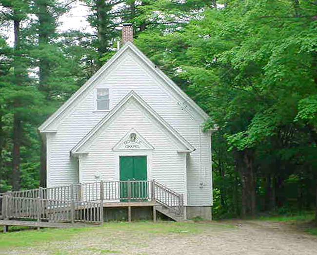 Tax assessor's photo of Richville Chapel on Mosley Road, Standish.