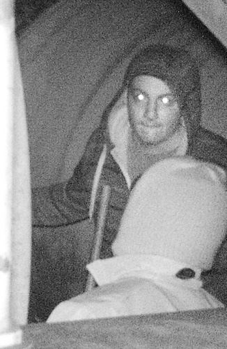 CAUGHT ON CAMERA: Police are seeking the public's help in identifying two men, seen in images captured by a nighttime game camera, who authorities say stole gasoline from Moody's Electric in Windsor.