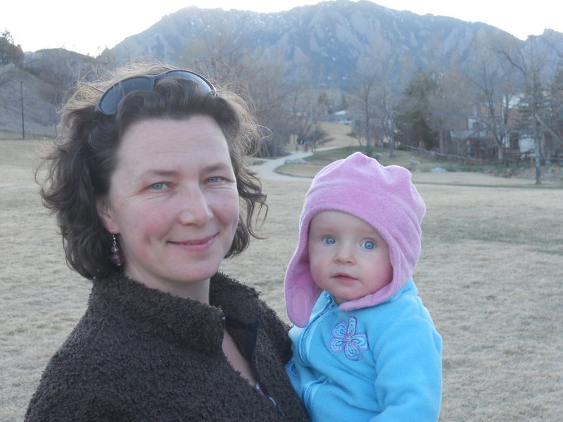 Melissa Lockman, a former running standout for John Bapst, now lives in Colorado with her husband and 1-year-old daughter.