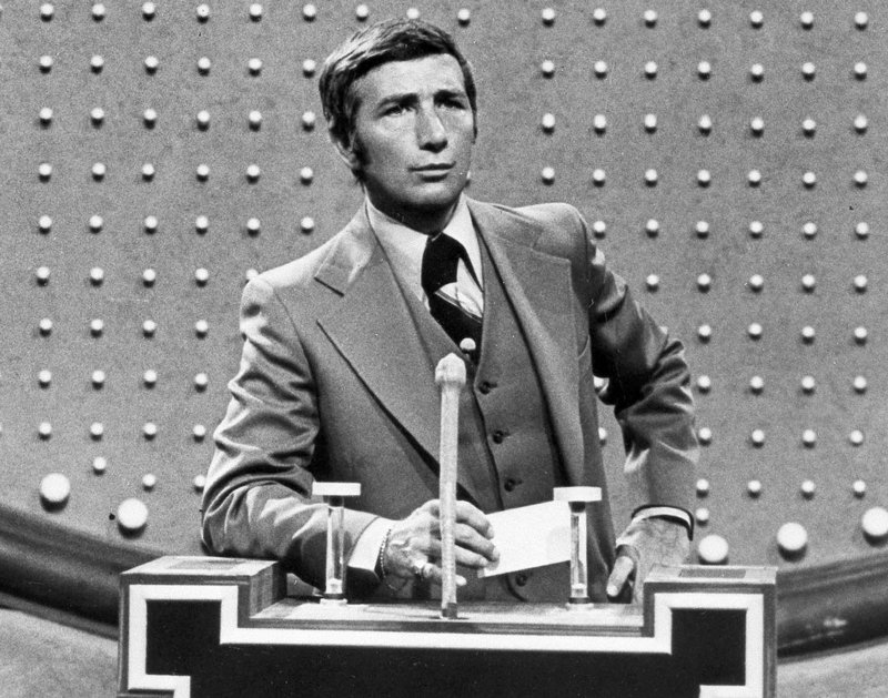 "Richard Dawson, shown in 1978 hosting ""Family Feud,"" also was known for his role on the 1960s sitcom ""Hogan's Heroes."""