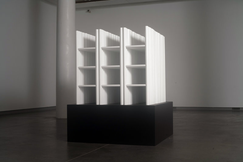 """White Cube"" by Sarah Bouchard."