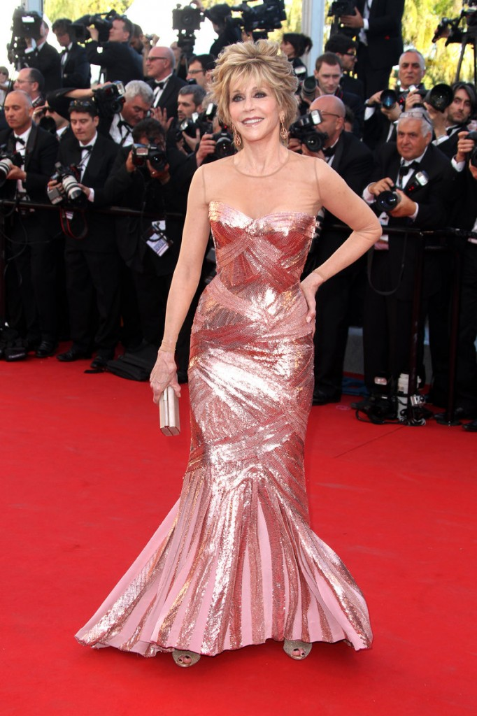 Jane Fonda at Cannes
