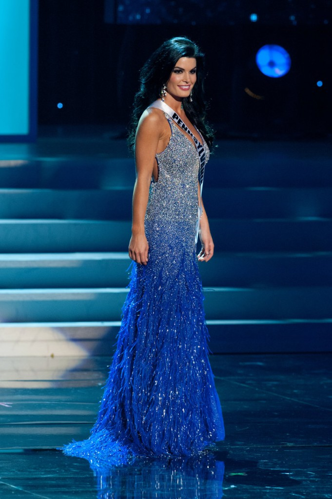 Sheena Monnin, the former Miss Pennsylvania USA, above, claims that Karina Brez, Miss Florida USA, below, saw a list of finalists before the Miss USA pageant was held. But the Miss Universe Organization and Brez dispute that.